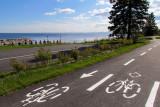 la piste cyclable du lac St-Jean
