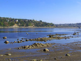 Marée basse devant Chicoutimi nord