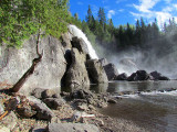 la sublime chute Neigette