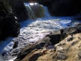 petite chute à Rivière-du-loup