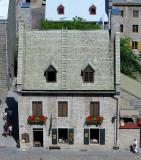vue sur une maison du Petit Champlain