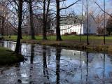 le manoir et l'étang