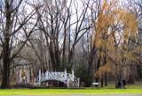 le pont et la statue,  Maizerets