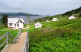 le village sur l'ile