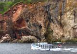tour de l'ile en bateau