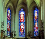 Vitraux du coeur de la cathédrale