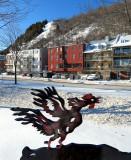 Coq de fer sur le boulevard Champlain