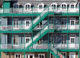 Les balcons verts