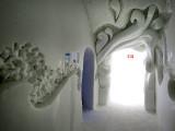 le couloir vers la sortie