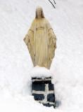 Vierge enneigée