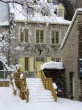 un escalier du Petit Champlain