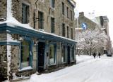 La rue St-Pierre sous la neige de février