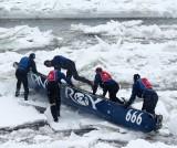 PMT ROY 666 on the ice