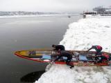 #211 franchissant la mer de glace