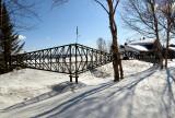 Le pont de Québec à Rivière-du-loup, réplique sympathique