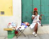 La femme au cigare
