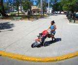 Promenade  de bébé à Matanzas