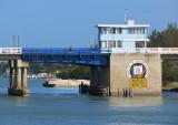 Le pont sur la lagune