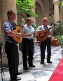Les musiciens de l'hotel Florida