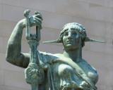 regard de statue