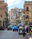 rue commerciale, La Havane