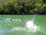 baignade au Rio Canimar