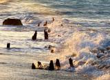 bouillon sur la plage