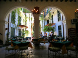Cour intérieure de l'hôtel Valencia