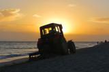 Tracteur de plage