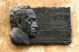 la plaque de  Simon Bolivar