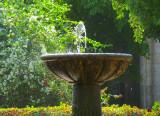 la fontaine de la Plaza de Armas