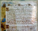 Manuscrit de la mansion del Marqués de Duquesne