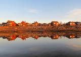 front de mer et son reflet