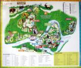 plan du zoo sauvage de St-Félicien