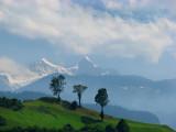 vision des alpes