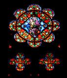 Vitrail, cathédrale d'Albi