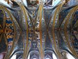Plafond de la cathédrale d'Albi
