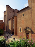Palais de la berbie abritant le musée Toulouse-Lautrec