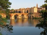 Le pont Vieux et la rive droite du Tarn