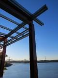 Le belvedere et les ponts