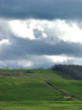 sous les nuages à St-Simon
