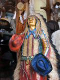 L'indien aux chapeaux de cow-boy