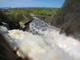 Rivière du loup de la chute