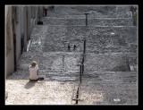 Lisbon - Facades - Stairs