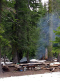 Campsite at Campbell lake