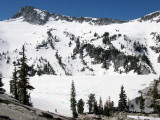Grizzly Lake iced over