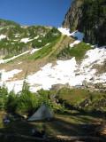Camp3 in Fire Creek basin
