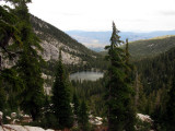 Little Duck Lake from Ridgeline