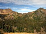 Gem Peak and pass to Little Elk lake