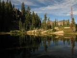 Angel lake reflections